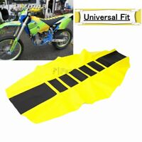 MX Traction Seat Cover Rubber For Suzuki DR250 DR350 DRZ400 RMX250 RMX450 RM250