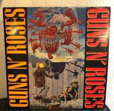 Guns N' Roses Rare 6 Track EP 1987 Japan P-6270 LP Album Record Sleeve W Lyrics