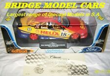 2001 #18 Paul Radisich Shell AU & signed certificate - 1:18 Classic Carlectables