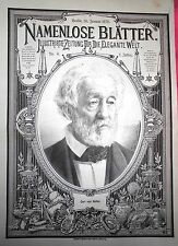 Originaldrucke (1800-1899) mit Porträt & Persönlichkeiten und Lithographie