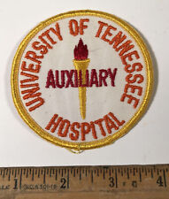Vintage University Of Tennessee Volunteers Hospital Auxiliary Patch Medical