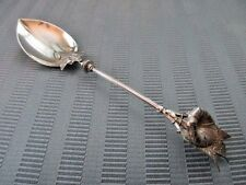 GORHAM Ice Cream SPOON MORNING GLORY 1865 STERLING SILVER .925 RARE 3D NM 🍨