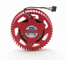 2pcs AVC BASA0725R2U 12V 1.20A For ATI HD5870 HD5970 graphics card fan turbine