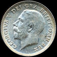 1914 SIXPENCE George V Extremely fine/Almost uncirculated ESC 3875