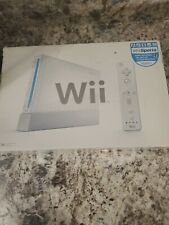 Nintendo Wii White Console-Complete w/ Wii Sports - GameCube Compatible Tested!!