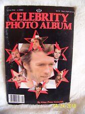 Celebrity Album In-Dept Biographics Full Color Portraits 32 Screen Stars 1979