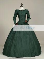 Victorian Dickens Civil War Little Women Green Dress Reenactment Theatre 316