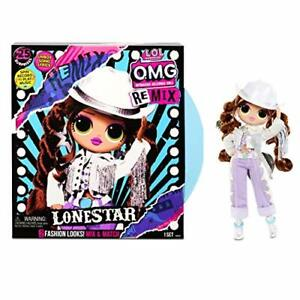 LOL Surprise! OMG Remix Lonestar Fashion Doll Playset 25 Surprises Extra Outfit