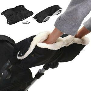 Winter Pram Warmer Gloves Pushchair Hand Muff Waterproof Stroller Accessories UK