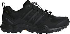 adidas Terrex Swift R2 GORE-TEX Mens Walking Shoes Black Sports Trainers GTX