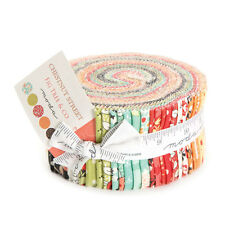 "Moda FABRIC Jelly Roll ~ CHESTNUT STREET ~ by Fig Tree Quilts 40 - 2.5"" strips"
