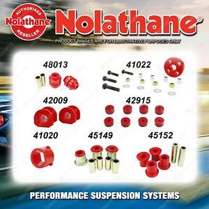 Front Nolathane Suspension Bush Kit for FORD CORTINA MK3 MK4 MK5 6CYL 1968-1982