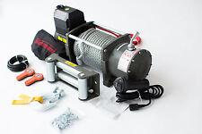24 Volt,elektrische Seilwinde,17000 lb,7727 kg Winde,CE, 2 x Funkfernbedienung