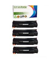 4 pack Compatible toner for HP Laserjet CE285A Black LaserJet Pro P1102w P1109w