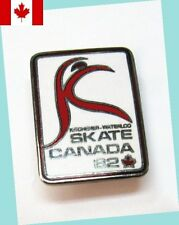 1982 Kitchener-Waterloo Skate Canada Lapel Pin Ex/Mt - Scarce