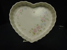 Pfaltzgraff Tearose Heart shaped Baking dish