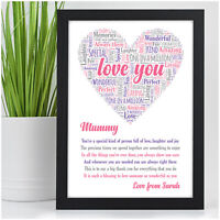 Personalised Birthday Gifts for Her Mum Mummy Nanny Auntie Nana Xmas Gifts