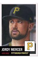 2018 Topps Living Set MLB Card #36 Jordy Mercer Pittsburgh Pirates