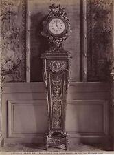 Musée du Louvre Paris Horloge France Vintage Albumine ca 1880