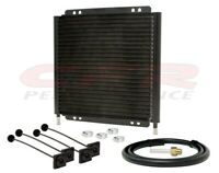 "UNIVERSAL TRANSMISSION OIL COOLER (11"" x 10.25"") - CHEVY/FORD/MOPAR"
