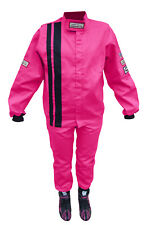 PINK KIDS FIRE SUIT RACE SUIT 2 PIECE JACKET & PANTS SFI 3.2A/1 SIZE 8/10