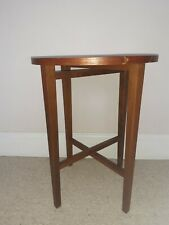 1 x MID CENTURY FOLDING SIDE TABLE POUL HUNDEVAD G PLAN PLANT STAND
