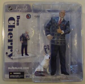 McFarlane NHL Sportspicks Legends Series 3 ~Don Cherry w/Blue~..BRAND NEW..MINT.