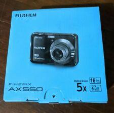 Fujifilm FinePix A Series AX550 16.0MP Digital Camera - Black