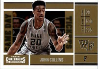 2017-18 Panini Contenders Draft Picks Game Day Tickets #21 John Collins