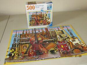 Ravensburger 500 Piece Puzzle - Music - COMPLETE