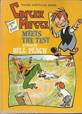 Ginger Meggs meets the test Bill Peach Bancks young Australia 1976 cricket