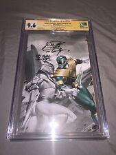 Mighty Morphin Power Rangers #50 Torpedo CGC 9.6 Signed by Jason David Frank