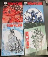 TEENAGE MUTANT NINJA TURTLES 1-4 JETPACK COMICS EXCLUSIVE 1st Printings TMNT HOT