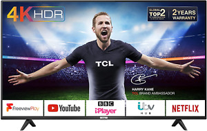 TCL 43P610K 43-Inch 4K Smart TV 3.0 Ultra HD - Freeview Play / BBC iPlayer / / /