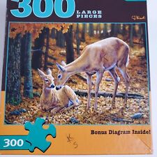 Buffalo Games Autumn Innocence Large Format 300 Pcs Puzzle Complete