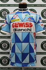 maglia ciclismo GEWISS BIANCHI TG VI B238 bike shirt maillot trikot jersey