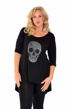 Gothic 3/4 Sleeve Plus Size Tops & Shirts for Women