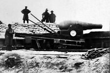 New 5x7 Civil War Photo: English Armstrong Gun at Fort Fisher, North Carolina