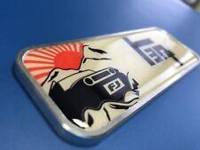 TRD TEQ FJ Cruiser Metal Aluminum Badge Bed Side Emblem Aluminium