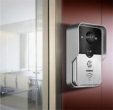 2MP WiFi Smart Video Door Phone Doorbell Cam Alarm PIR Motion Detection AU STOCK