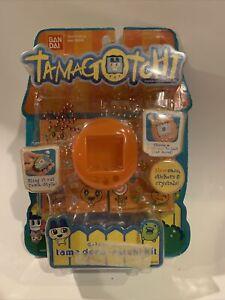 2008 Bandai TAMAGOTCHI Gotchi Gear Case & Tama Deco-ratchi Kit Stickers -NEW