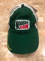 Nascar Hat Cap MOUNTAIN DEW #88 DALE JR Hendrick Motorsports One Size Adult ADJ