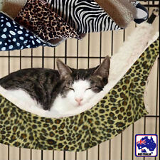 Cat Kitten Small Pet Hammock Bed Cage Leopard Zebra-striped Dot 37x37cm PCATB91