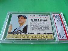1961 Post Cereal #125 BOB FRIEND  psa 5 perf (568) Pittsburgh PIRATES