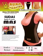 Burn Shaper Vest, Hot Vest, Slimming Vest, Chaleco Faja, Suda Hasta 4 Veces Mas