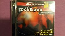 COMPILATION - DIE HITS DER 70ER ROCK & POP EDITION  (URIAH HEEP TOTO...). 2 CD