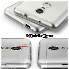 Xiaomi Redmi Note 3 TPU Back Clear Case Cover Camera Protection With Dust Plugs