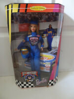 Barbie 50th Anniversary Nascar Doll 1948-1998 New in Box.