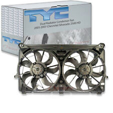 TYC Dual Radiator and Condenser Fan Assembly for 2005-2007 Chevrolet es