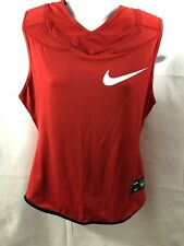 Men's Nike Dri-Fit Padded Football Under Shirt Tank Top Red Size Large NWT
